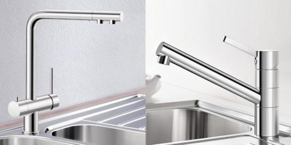 Чем выше излив смесителя, тем более габаритные предметы вы сможете мыть в мойке