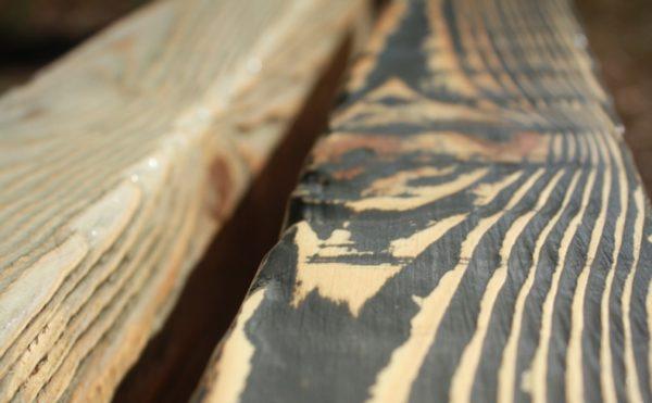 Декоративная, красиво состаренная древесина добавит интерьеру изысканности и уюта