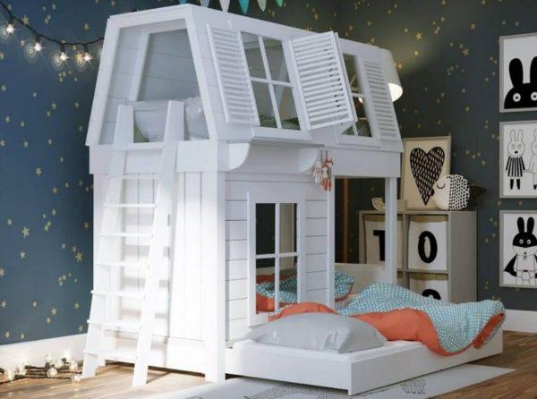 Дерево – отличный материал для изготовления детской кроватки