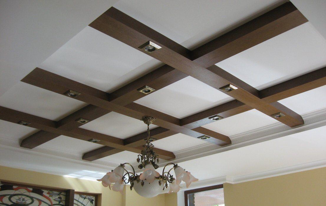 Декор потолочной балки