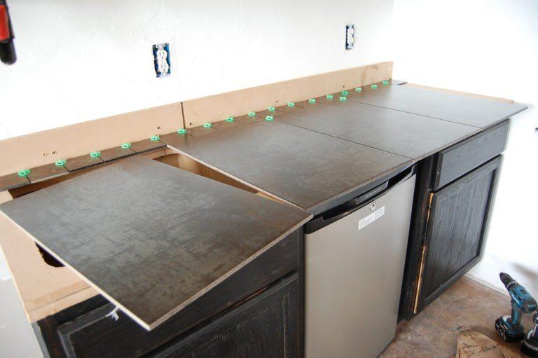 Как своими руками сделать столешницу на кухонный гарнитур 8