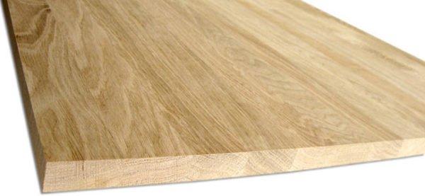 Деревянный мебельный щит из ясеня
