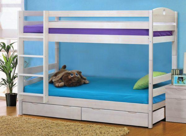 Длина спального места в детской кровати определяет период пользования конструкцией