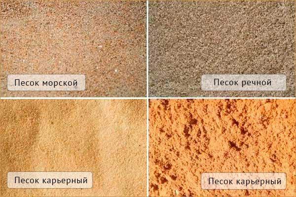 Для добавления в штукатурную смесь желательно брать чистый речной песок.