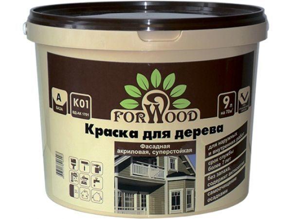 Для окрашивания фасадов выпускаются специальные краски.
