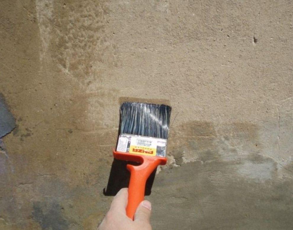 Побелка по бетону купить бетонная смесь качество
