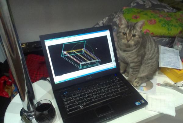 Для разработки чертежа мебели воспользуйтесь специальными компьютерными программами
