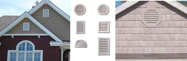 Для сайдинга и цокольной вентиляции лучше использовать регулируемые конструкции.