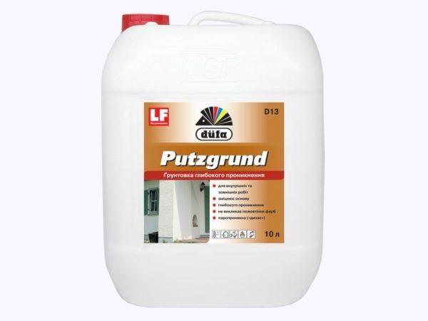 Dufa Putzgrund – отлично зарекомендовавший себя грунт от финского производителя