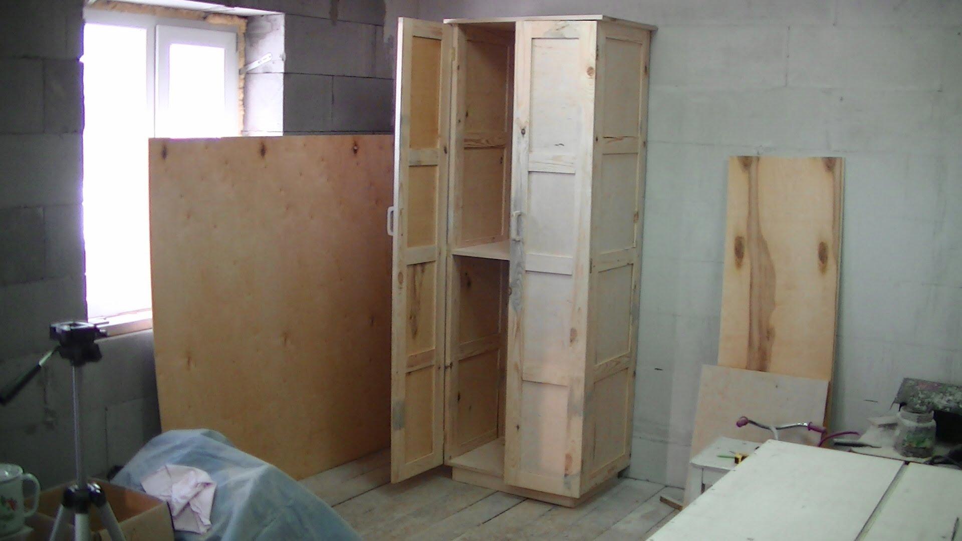 самодельный шкаф инструкция как сделать Obustroenocom