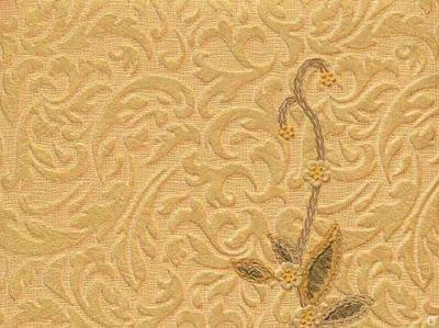 Дуплексные обои обладают четко выраженным рельефным узором