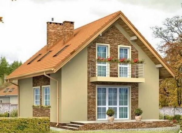 Двускатные крыши обладают наибольшей популярностью