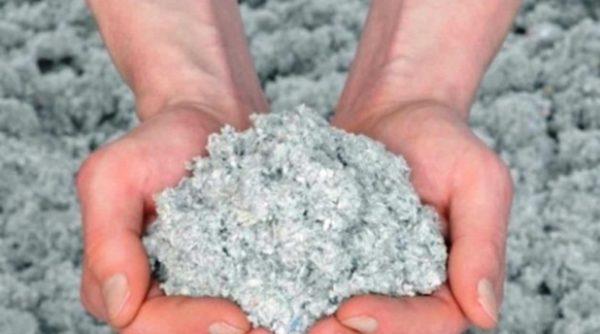 Эковата – недорогой и экологичный сыпучий теплоизоляционный материал