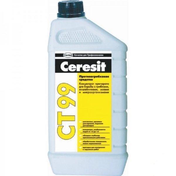 Если вам нужен концентрат, то лучше всего использовать состав СТ 99 от «Церезит»