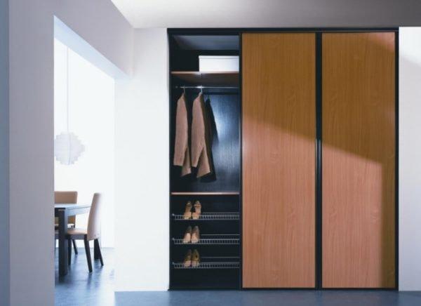 Если все сделано идеально, то шкаф смотрится отлично