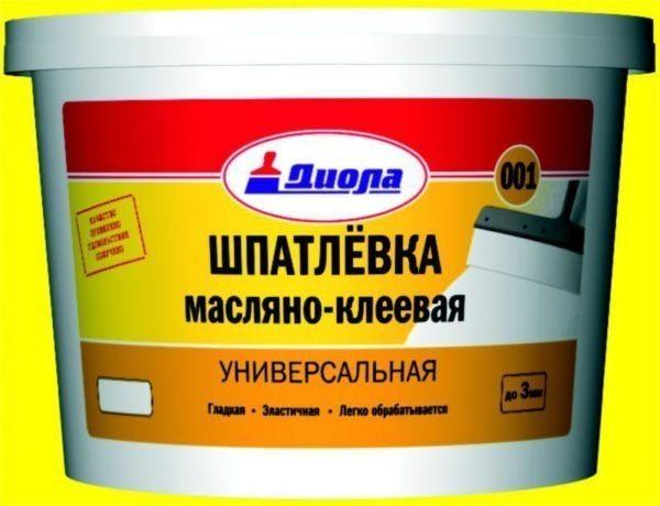 Фабричный масляно-клеевый состав