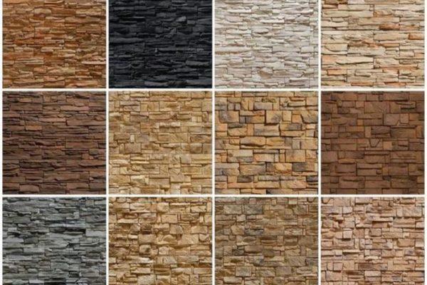 Фактура и окраски натурального материала многообразны.