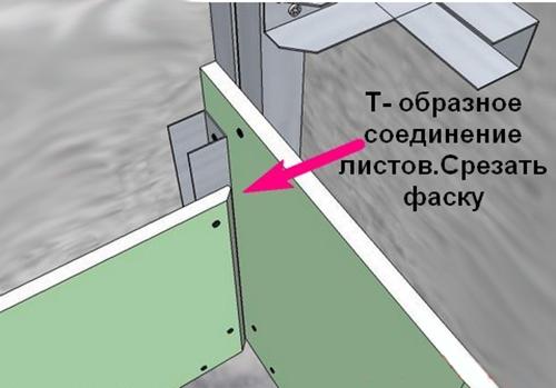 Шпатель для внутренних углов