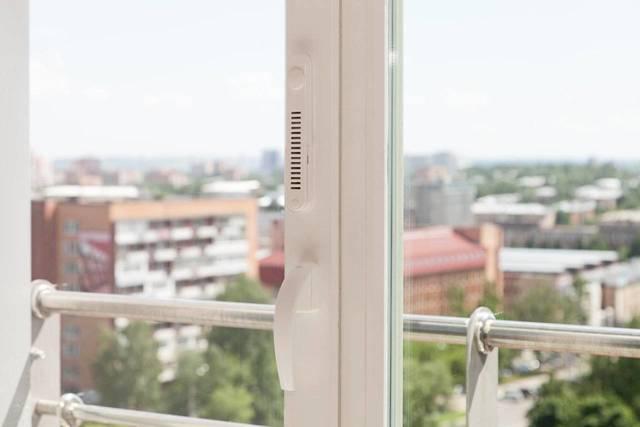 Фильтр практически не влияет на внешний вид окна