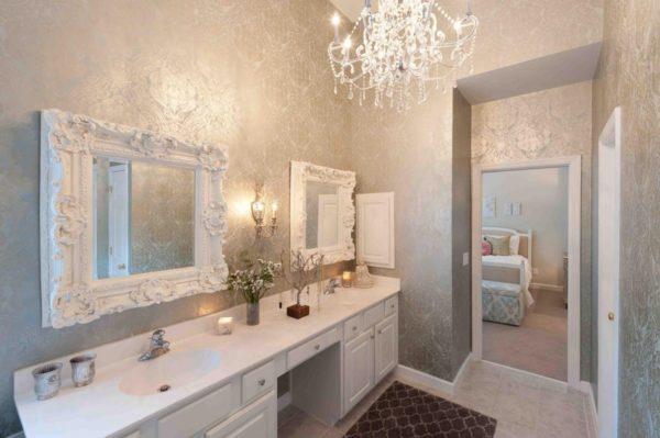 Флизелиновыя основа влагостойкая — используется в ванной комнате