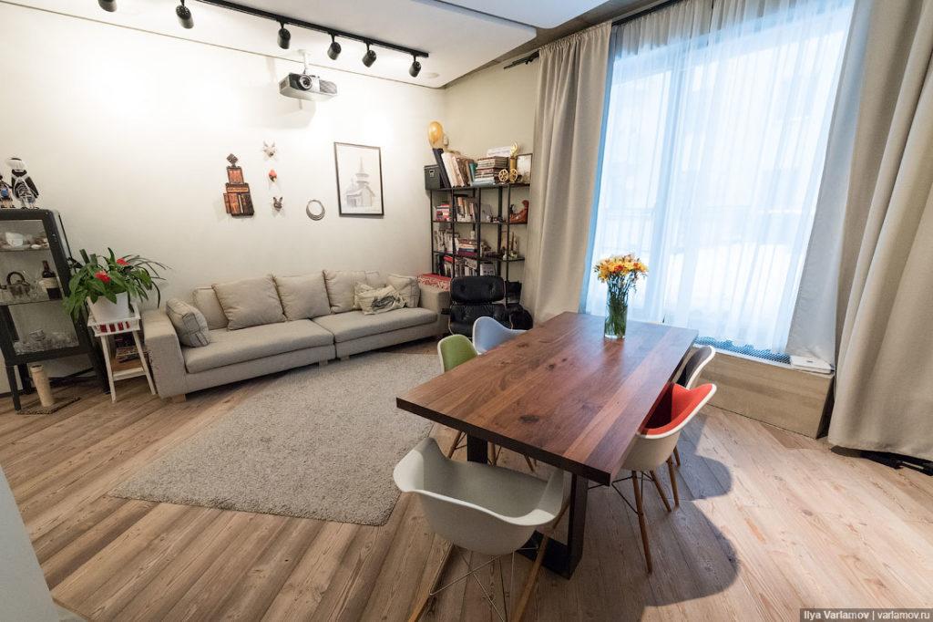 3 года квартира, в которой жил Варламов