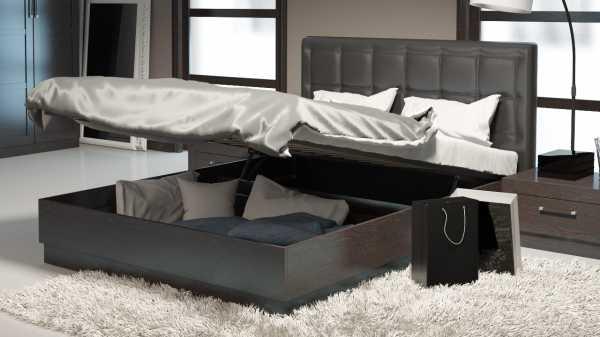 Фото кровати с подъемным механизмом