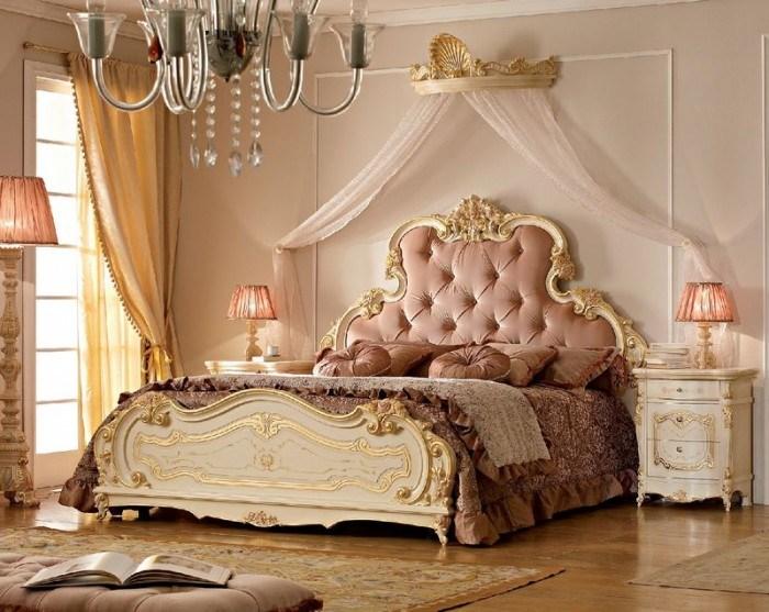 Фото кровати с балдахином.