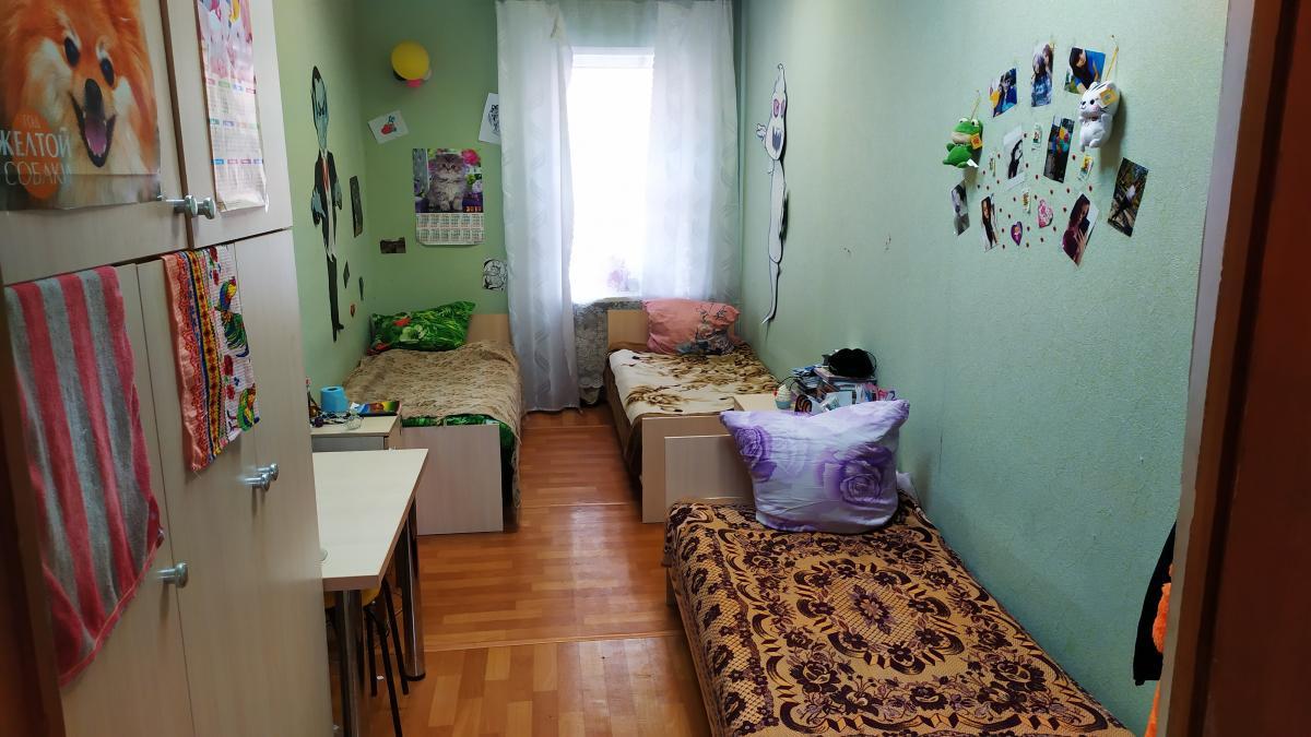 Так выглядит стандартная комната в общежитии