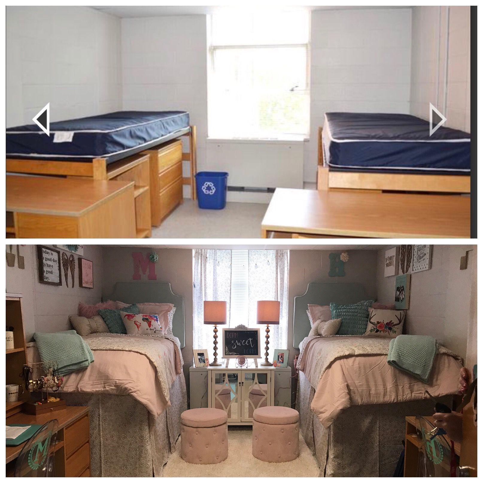 Если придерживаться светлых тонов в оформлении, комната будет смотреться уютнее и свободнее