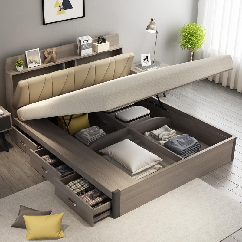 Большая часть спальных диванов имеет внутри ящики для хранения постельных принадлежностей