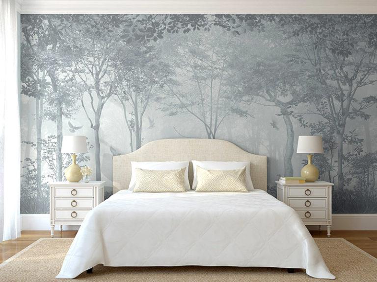 Фрески можно встретить и в интерьере больших домов, и маленьких квартир