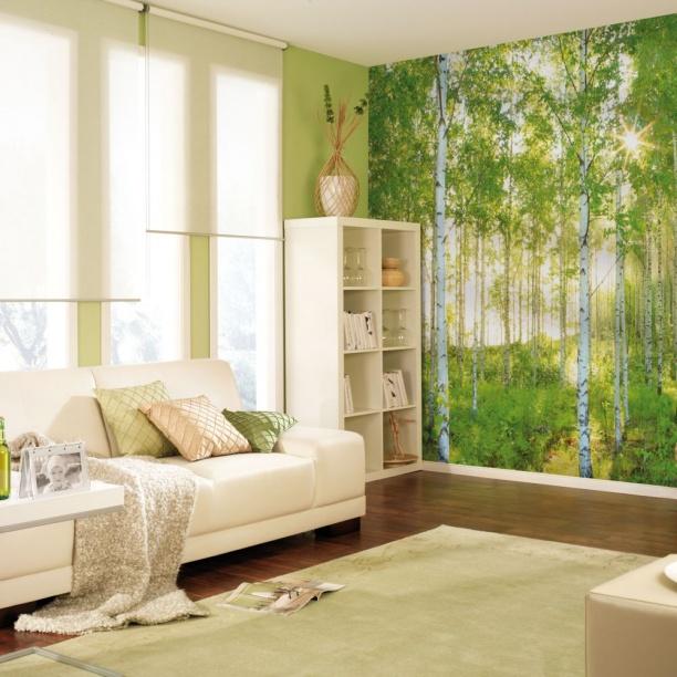 В небольших помещениях фрески должны быть преимущественно светлых тонов