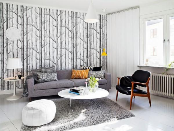 Фотообои легко превратят стену в полноценный декоративный элемент