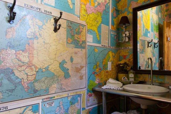 География на стенах