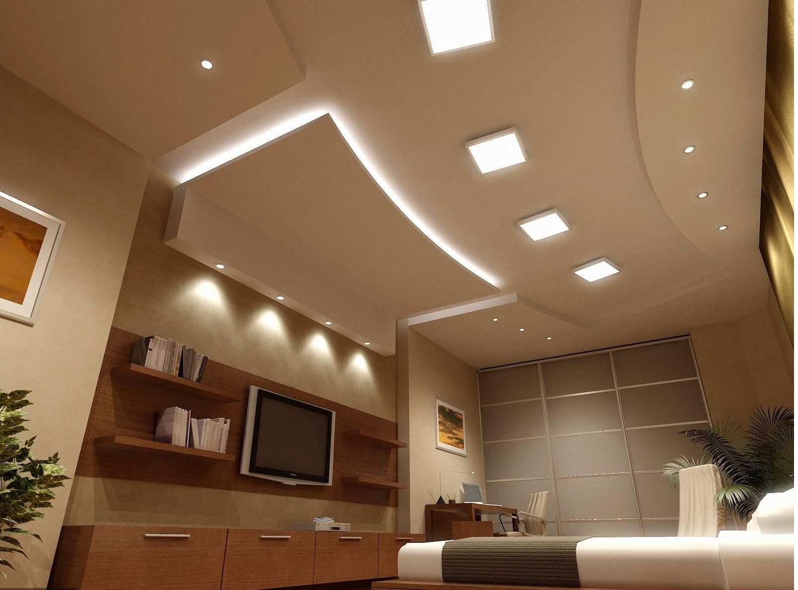 Потолки из гипсокартона дизайном