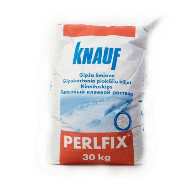 Гипсовый клей Перлфикс от немецкой компании Кнауф.