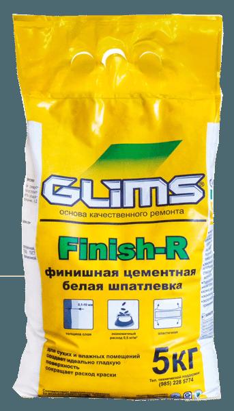 «GLIMS Finish-R» за счёт высокой пластичности может наноситься слоем толщиной от 0,1 до 10 мм