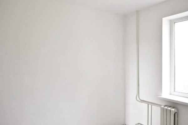 Готовые для покраски стены