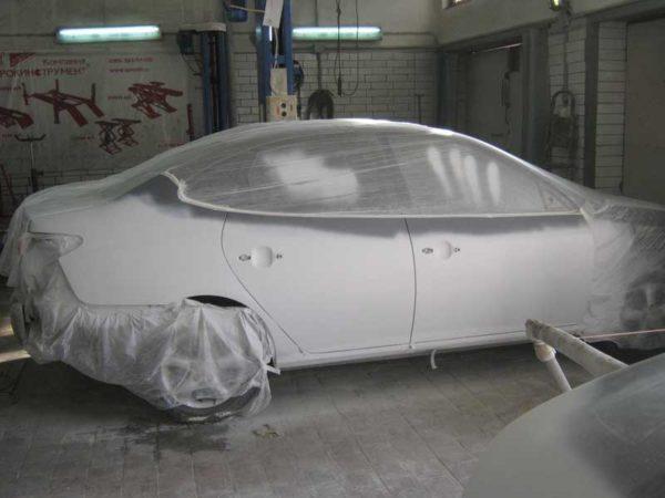 Грунтовка эпоксидная может использоваться при ремонте кузовов автомобилей