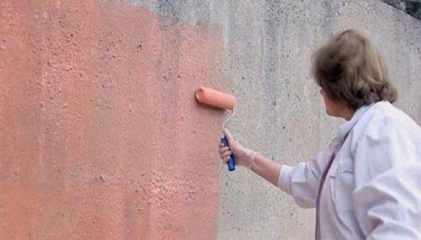 Грунтовка с кварцевым песком может использоваться как внутри, так и снаружи зданий