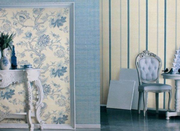 Холодные тона визуально делают комнату больше