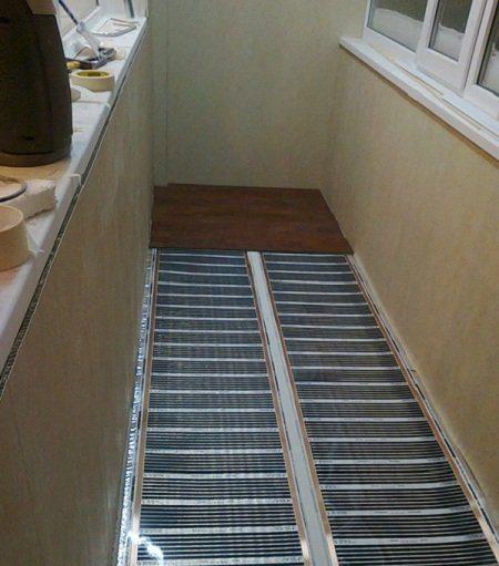 ИК пленка – это неплохой вариант для обогрева балкона