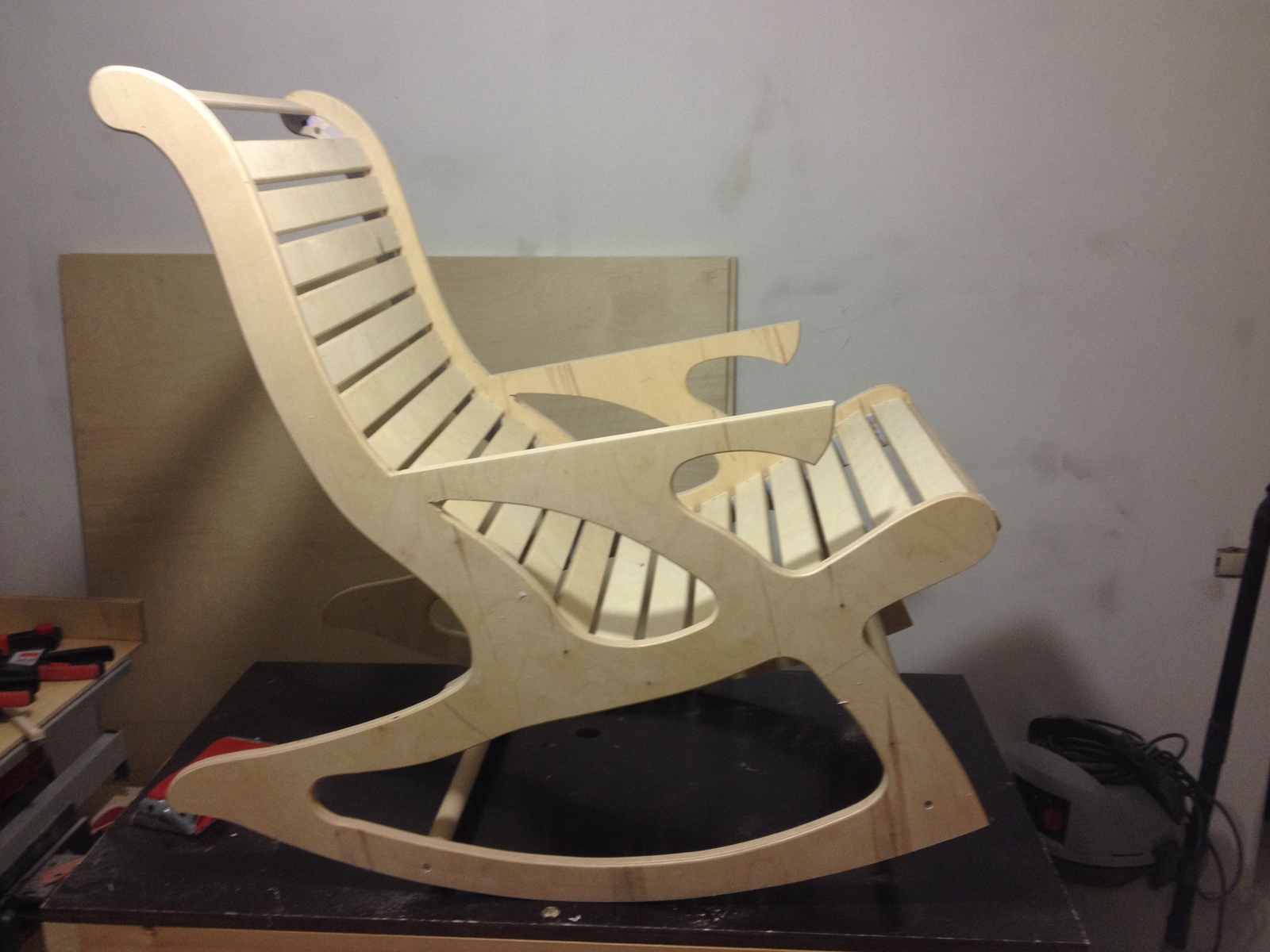 Кресло из фанеры своими руками чертежи фото 230