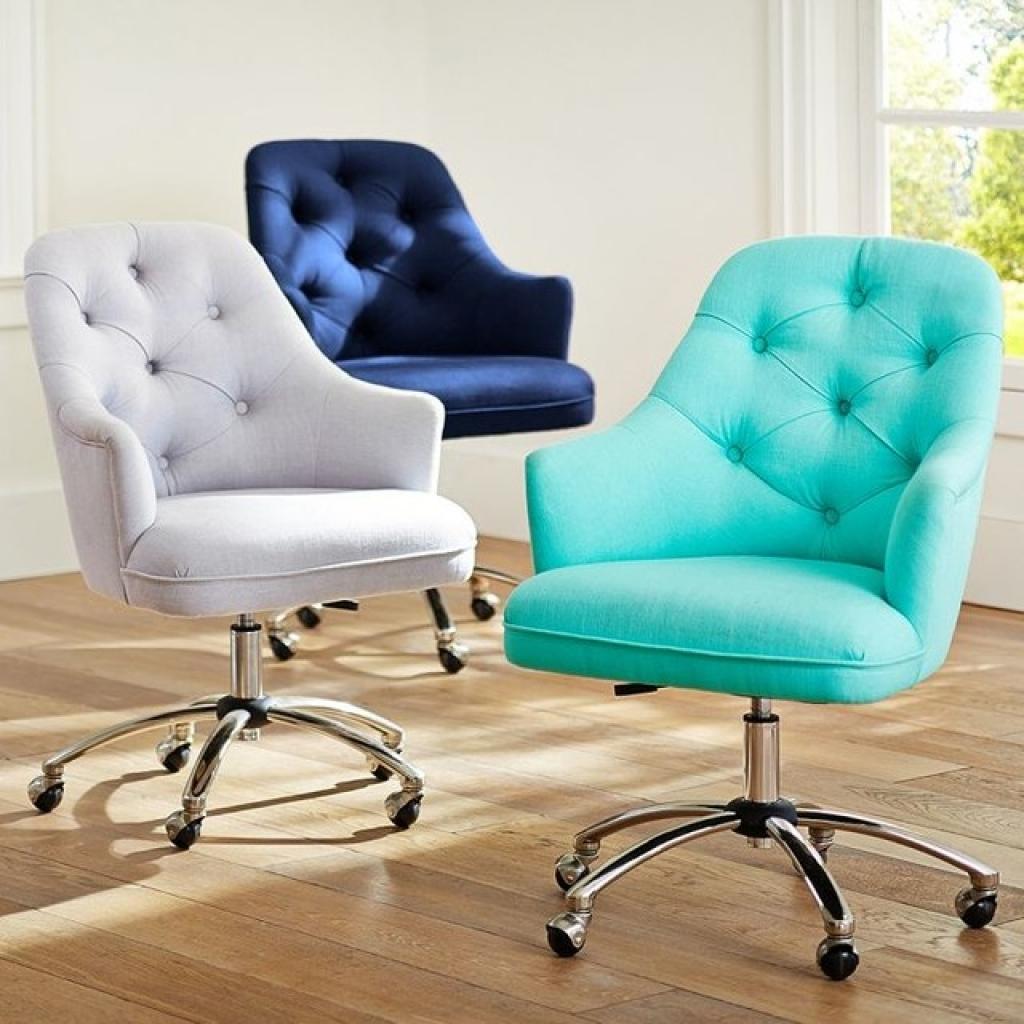Текстильные компьютерные кресла