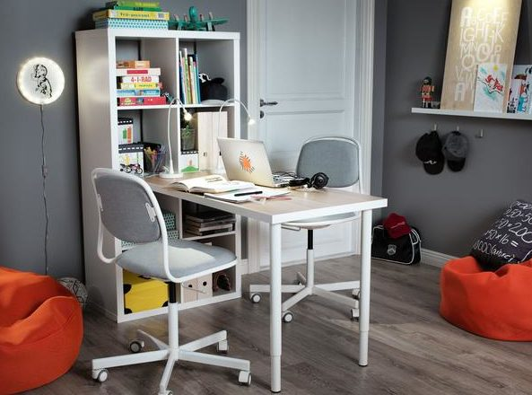 ÖRFJÄLL, детский компьютерный стул от IКЕА