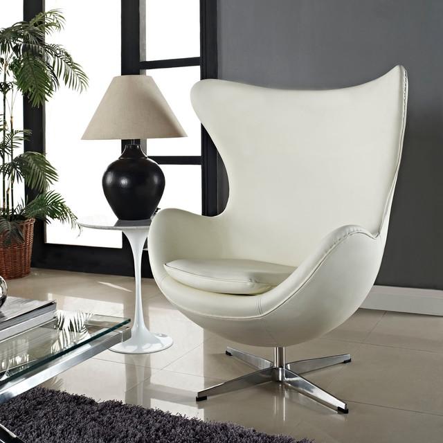 Кресло «Egg» — более раскрепощенный вариант для дома