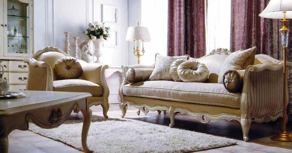 Мебель из одного комплекта позволяет создать гармоничную обстановку