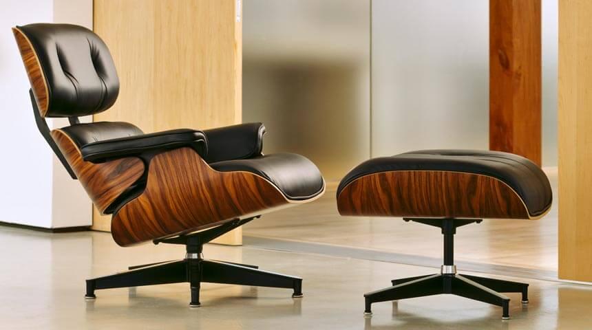 Комфортная пара: кресло с откидной спинкой и пуфом