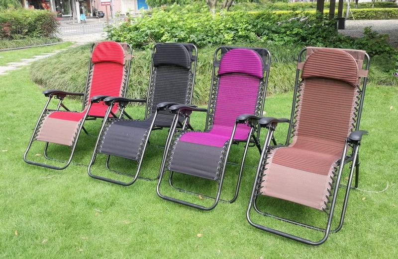 Дачный вариант складного кресла
