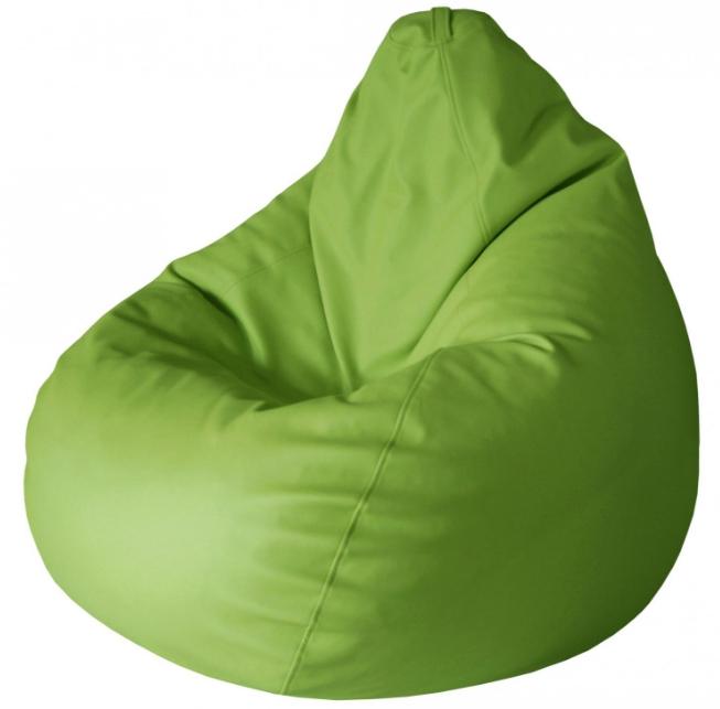 Из экокожи делаются как традиционные варианты мебели, так и современные бескаркасные кресла